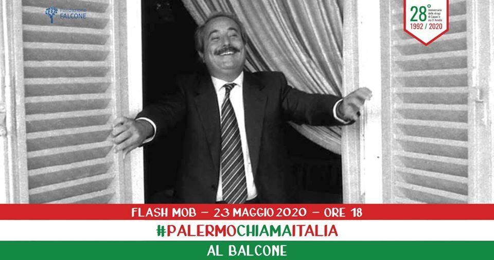 """Il 23 maggio """"Palermo chiama Italia al balcone"""" per ..."""